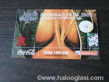 Bijelo dugme ulaznica za koncert na Hipodromu