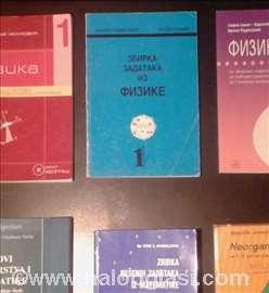 Udžbenici, knjige - fizika - zbirka gimnazija
