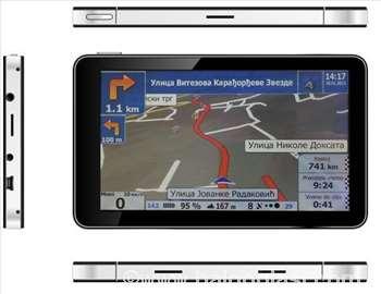 GPS navigacija Beling: ekran 5 inča