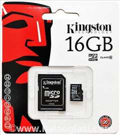 Kingston micro SDHC class 10 - 16Gb