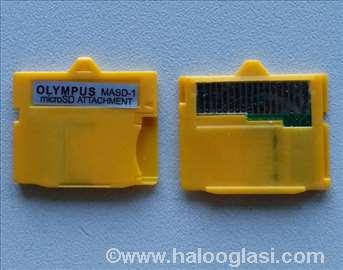 Olympus/Fuji Micro SD na XD adapter (MASD-1)