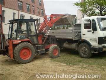 Lomljenje betona bagerom i kombinirkom, štemovanje
