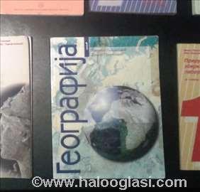 Udžbenici, knjige- geografija- gimnazija, srednja