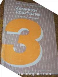 Udžbenici, knjige, hemijski praktikum 3, gimnazija
