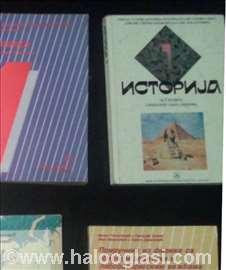 Udžbenici, knjige- istorija- gimnazija, srednja
