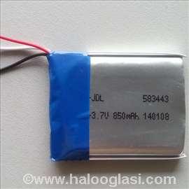 Baterija Li-polymer 3.7V 850mah za GPS navigacije