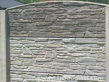 Betonska ograda elementi vikendice