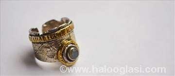 Prstenje sa pozlatom