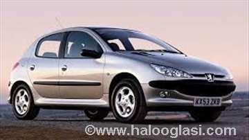 Peugeot 206 originalni polovni delovi