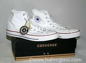 Converse, original duboke bele platnene patike