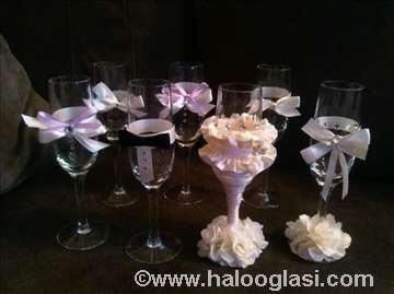 Čaše za venčanja