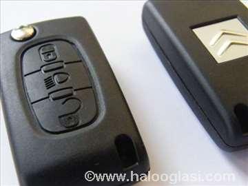 Kuciste za kljuc za Citroen C4, C3