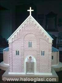 Maketa manastira Studenica
