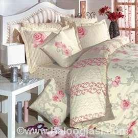 Pastel krem posteljina