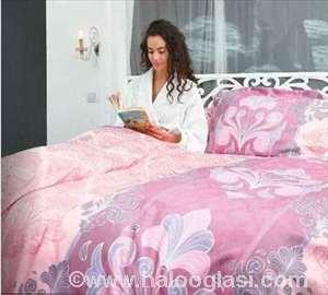 Soleado Home Embro roza saten posteljina