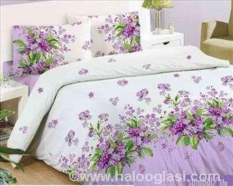 Zumbul lila posteljina