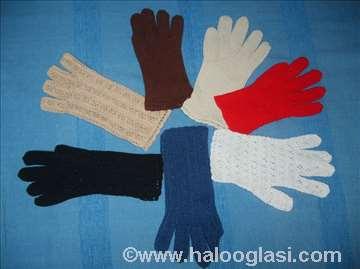 Heklane rukavice, ručno rađene
