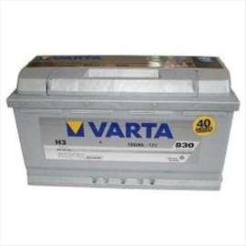 Akumulator 12V 100Ah 830A desno+ Silver dynamic VARTA  99A084