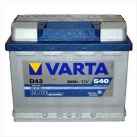 Akumulator 12V 60Ah 540A Levo+ Blue Dynamic VARTA 99A021