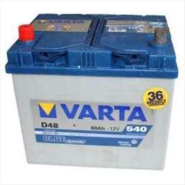 Akumulator 12V 60Ah 540A Levo+ Blue Dynamic VARTA ASIA 99A079