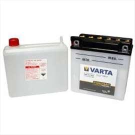 Akumulator Moto 12V 7Ah FRESHPACK levo+, kiselina YB7-A VARTA 99A024