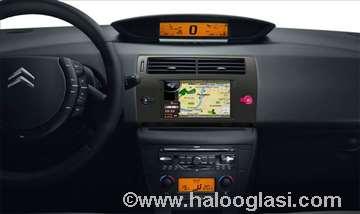 Citroen vozila, veliki izbor fabričke navigacije