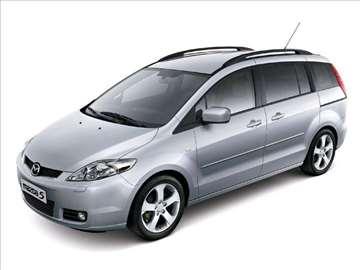Mazda 5 fabrički airbagovi