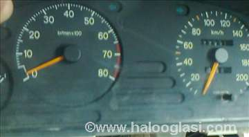 Peugeot 406  instrument table