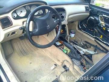 Peugeot 607 fabrički airbagovi