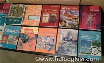 7 razred - osnovni komplet udžbenici