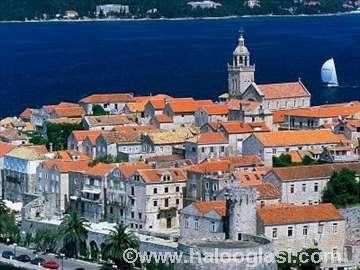 Hrvatska, Korčula, kuća za odmor