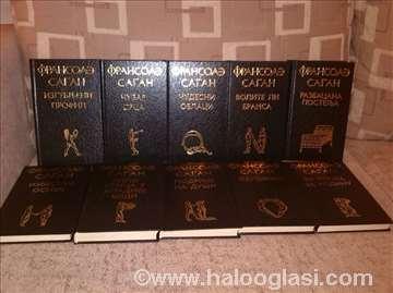 Fransoa Sagan - komplet od 10 knjiga
