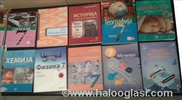 Udžbenici 7 razred-osnovni komplet- Logos Klett