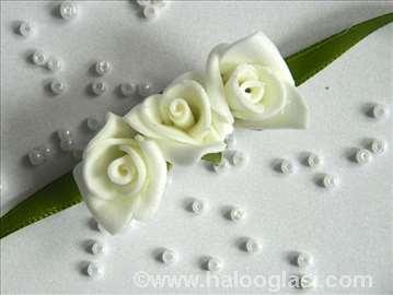 Cvetići za venčanje, zeleni