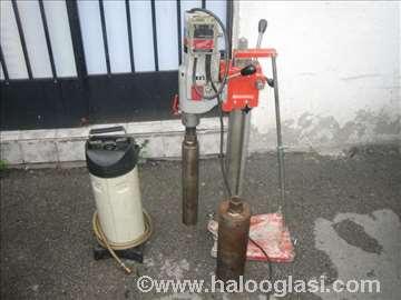 Bušilica za bušenje betona sa stalkom