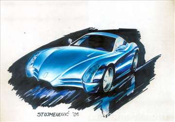 Časovi u crtanju i dizajnu automobila
