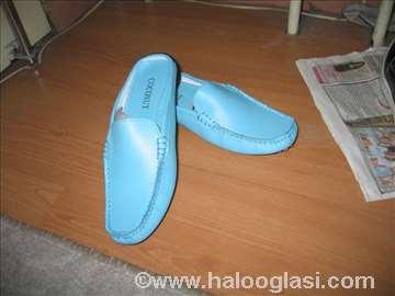 Ženske nove papuče, tirkizno plave