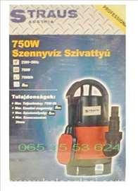 Pumpa muljna za vodu 750W