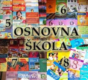 Osnovni KOMPLET- 5,6,7 i 8 raz.-udžbenici knjige