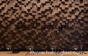 Dekorativne drvene zidne obloge