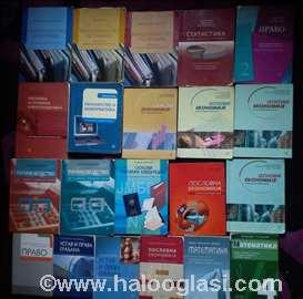 Srednja ekonomska-pravna, udžbenici- knjige