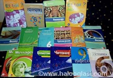 6.razred- odlično očuvani udžbenici
