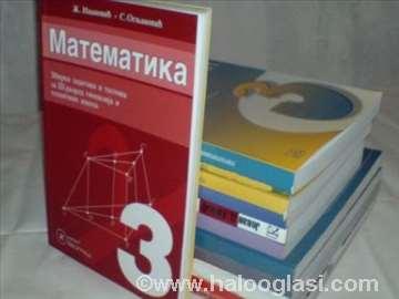 III godina gimnazija- komplet udžbenici