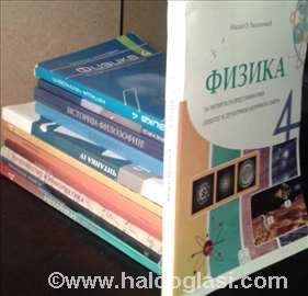 IV godina komplet gimnazija - udžbenici knjige