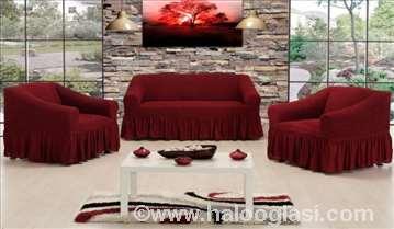 Prekrivači za trosed,dvosed,fotelju i stolice