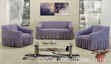 Prekrivači za trosed, dvosed, fotelju i stolice
