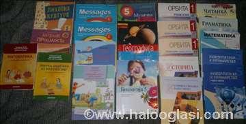 5,6,7,8. razred-Odlično očuvani udžbenici