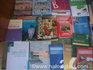 I-IV godina komplet gimnazija - udžbenici