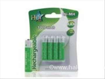 Punjive baterije NIMH 1000mAh