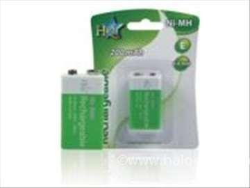 Punjive baterije NIMH 9V 200mAh